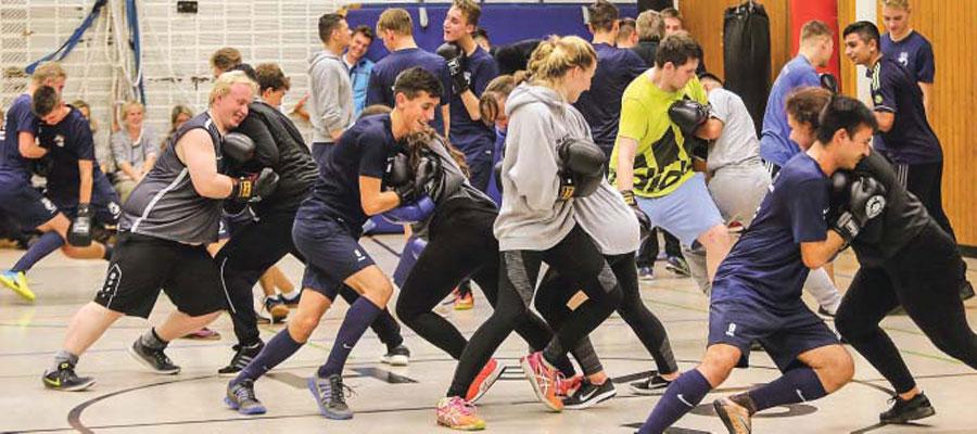 Gemeinsames Training mit dem SV Eidinghausen-Werste