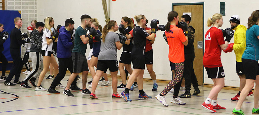 Gemeinsame Trainingsübung